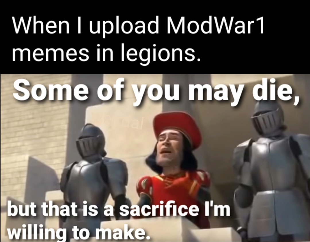 Sacrifices must be made! - meme