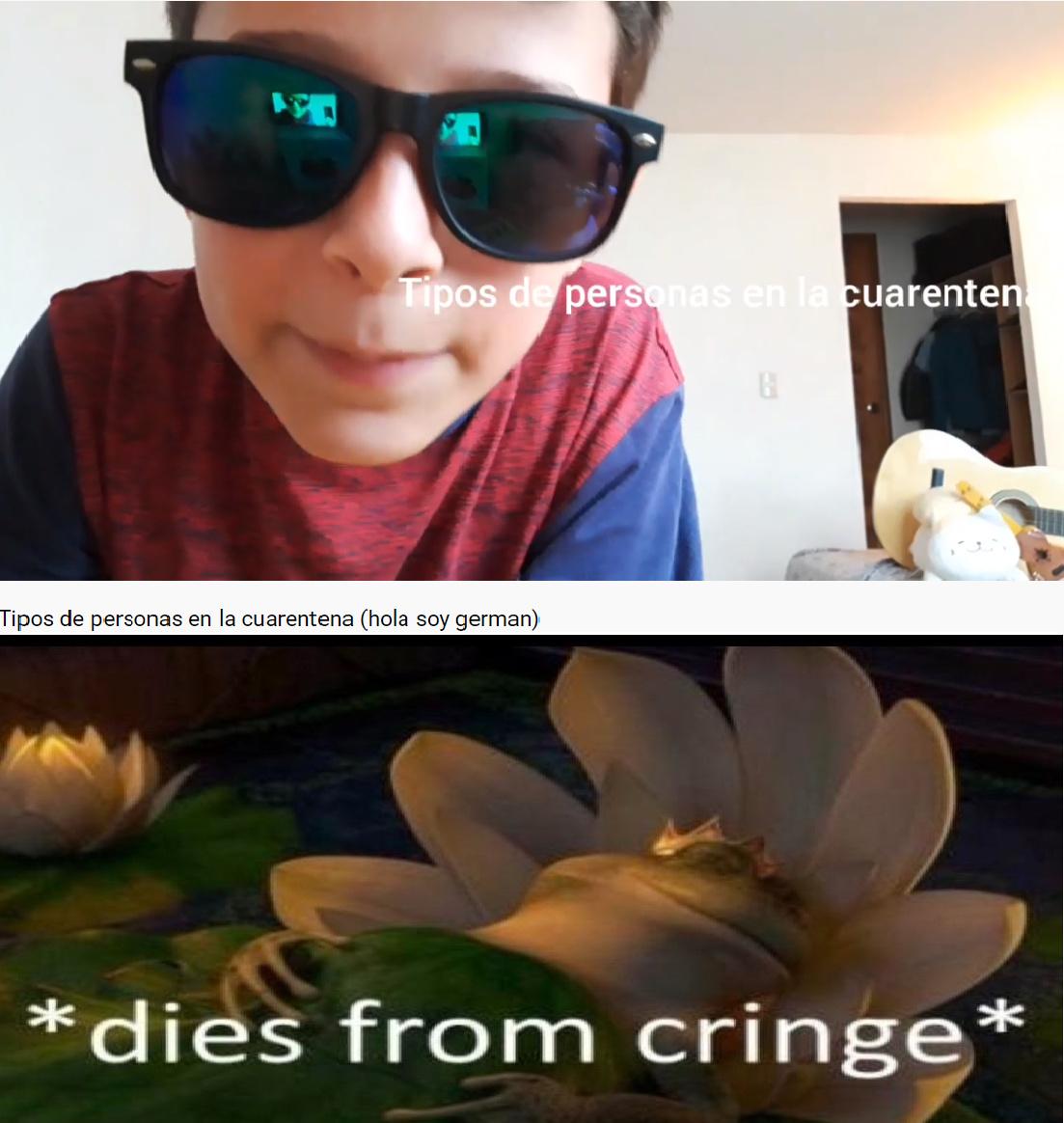 *Este video lo encontre porque un usuario de memedroid subio un meme anunciando que holasoygerman subio video del tema*