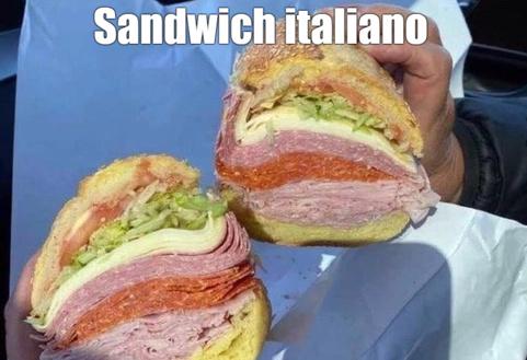 sandwich italiano - meme