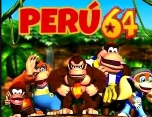 Peru sixty four - meme
