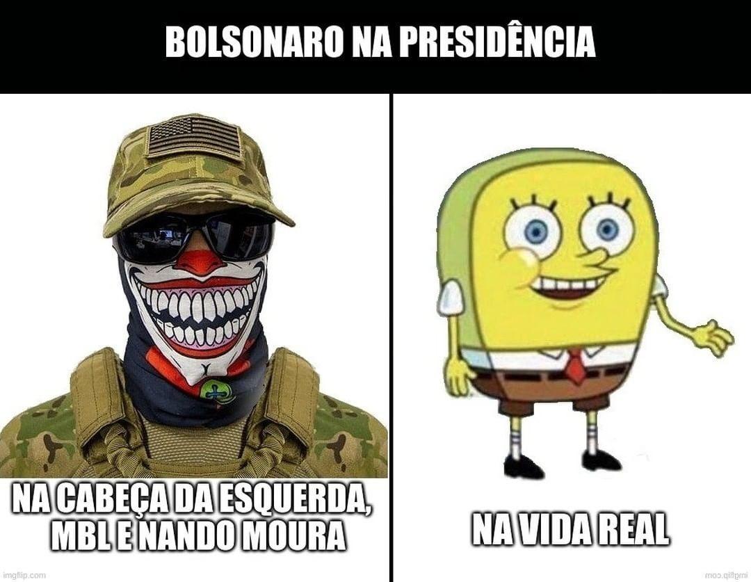 Bolsonaro não fez nada, muito fraco - meme