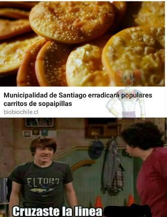 CON LAS SOPAIPAS NO HIJOS E LA PERRA - meme