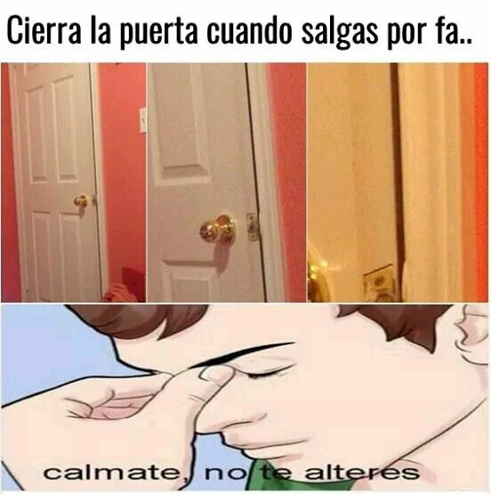 Calma... - meme