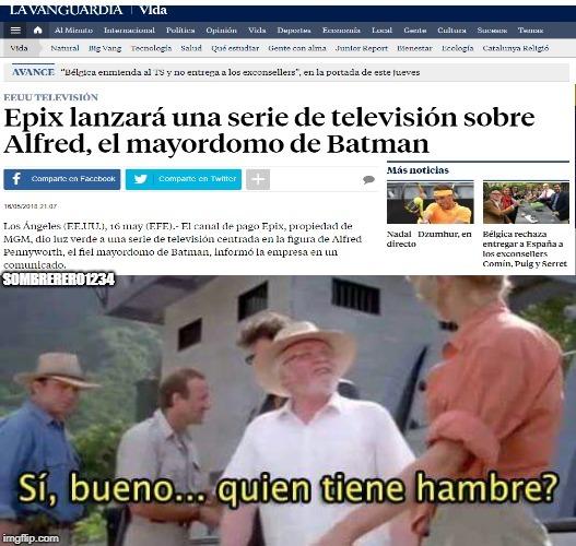 QUIEN PIDIO UNA SERIE PRECUELA DE ALFRED?! - meme