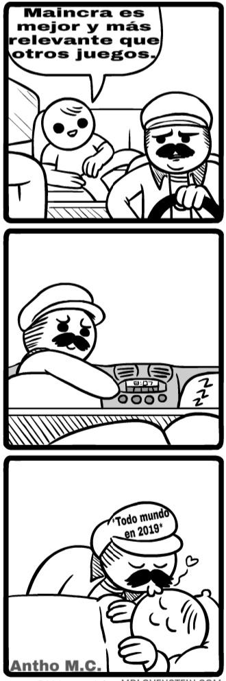Plantilla de un cómic de Mslovenstein. - meme