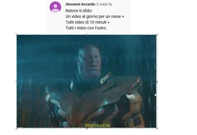 impossible for RATORIX - meme