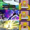 Hero en Smash es odió puro