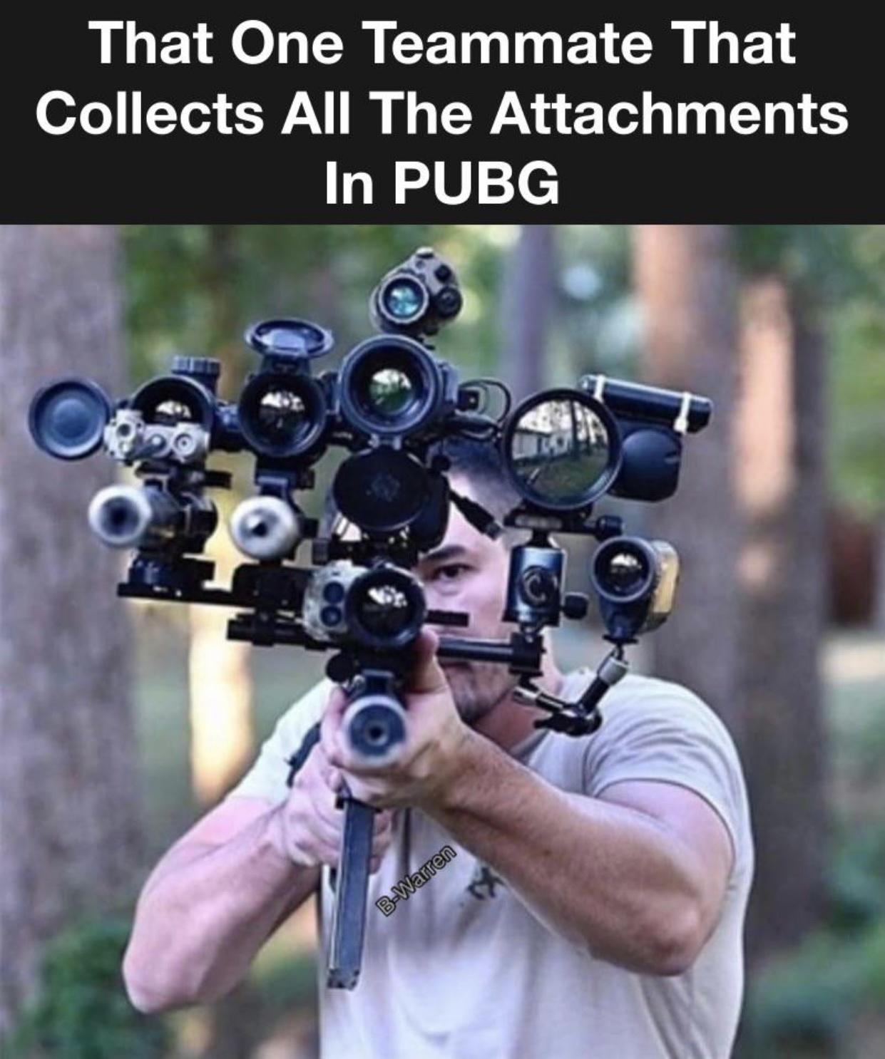 pubg attachments - meme