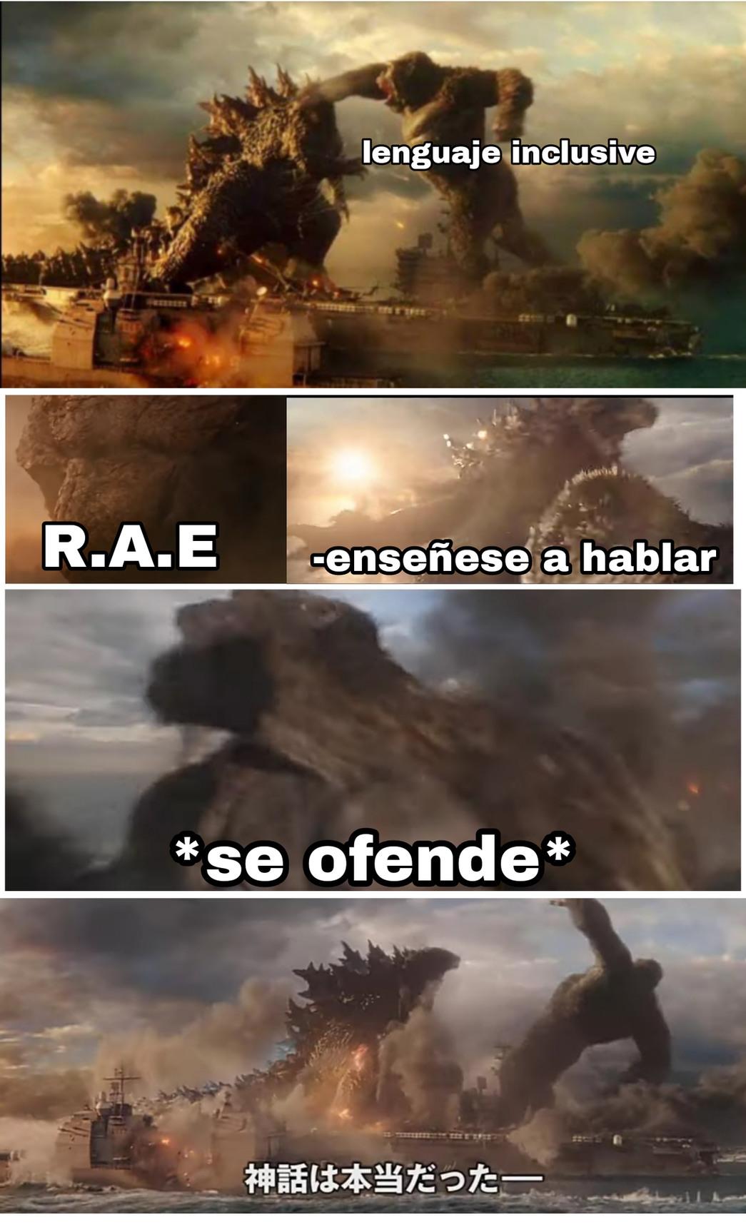 Viva el español - meme