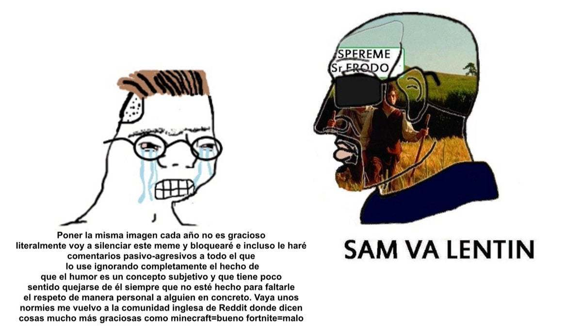 Sam Va Lentín - meme