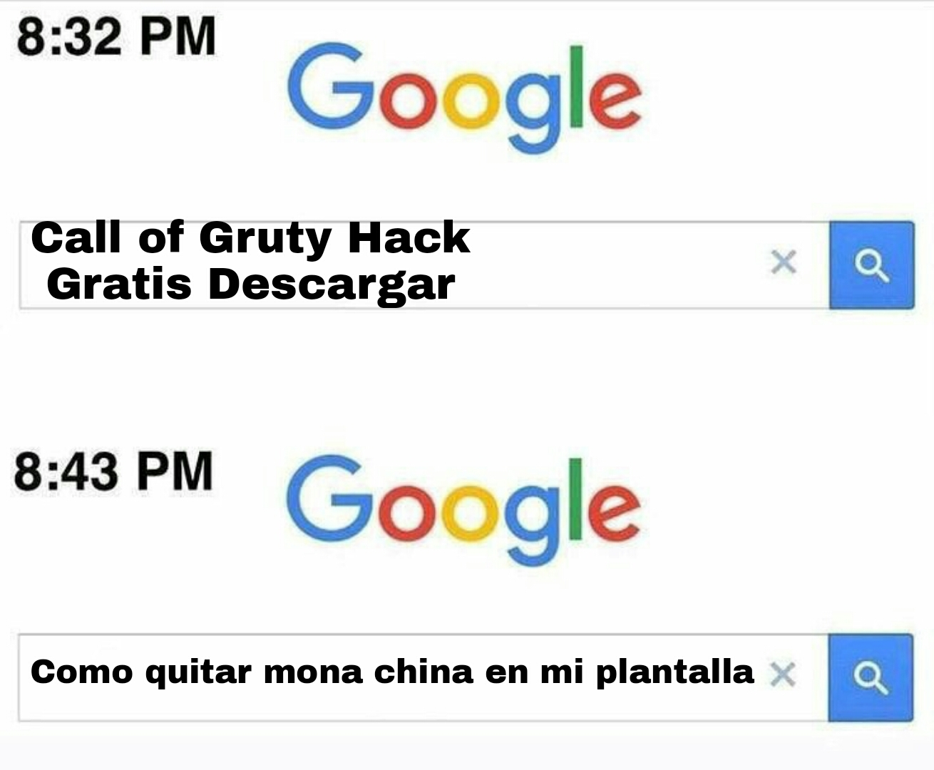 Call of Gruty™: Mobile - meme