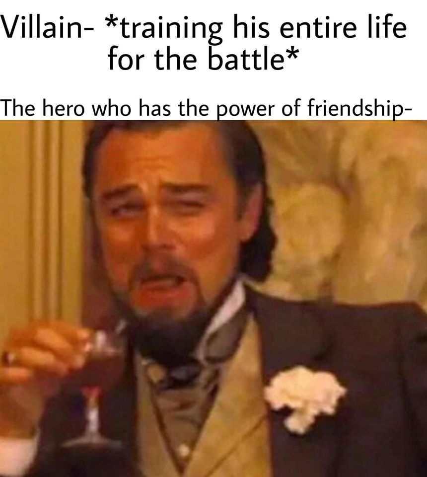 Friendship go brrrr - meme