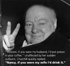 Winston Churchill is a badass! - meme