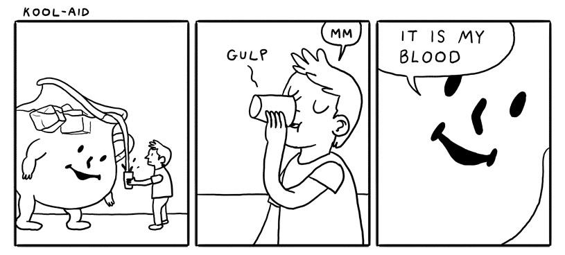 drinkin the koolaid - meme