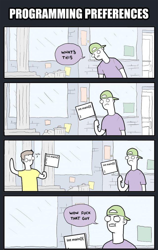 Programmers joke - meme