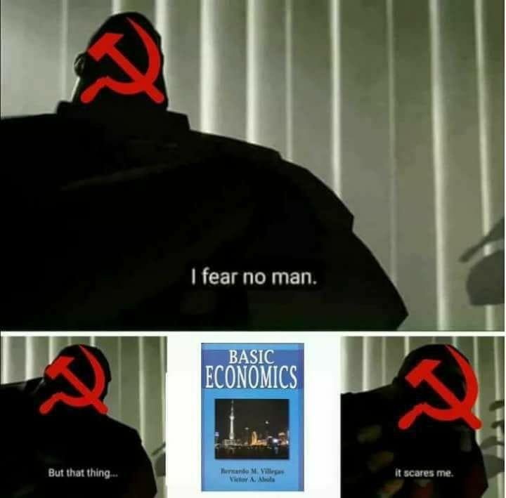 What communists fear the most - meme