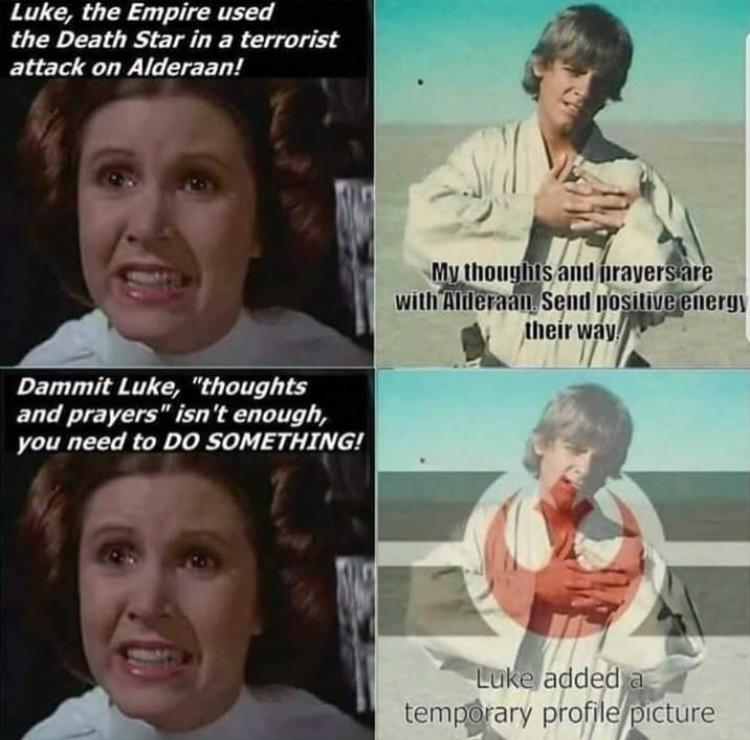 good guy Luke - meme