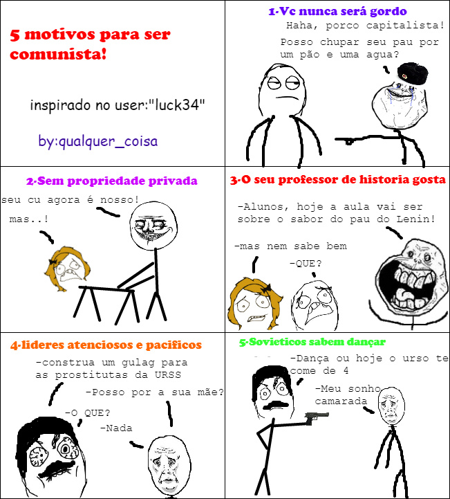 5-motivos para ser perfeito - meme