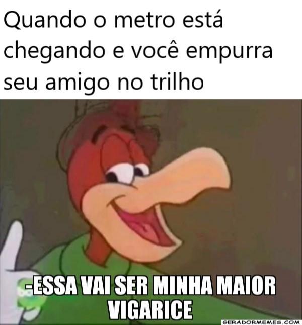 Metro - meme