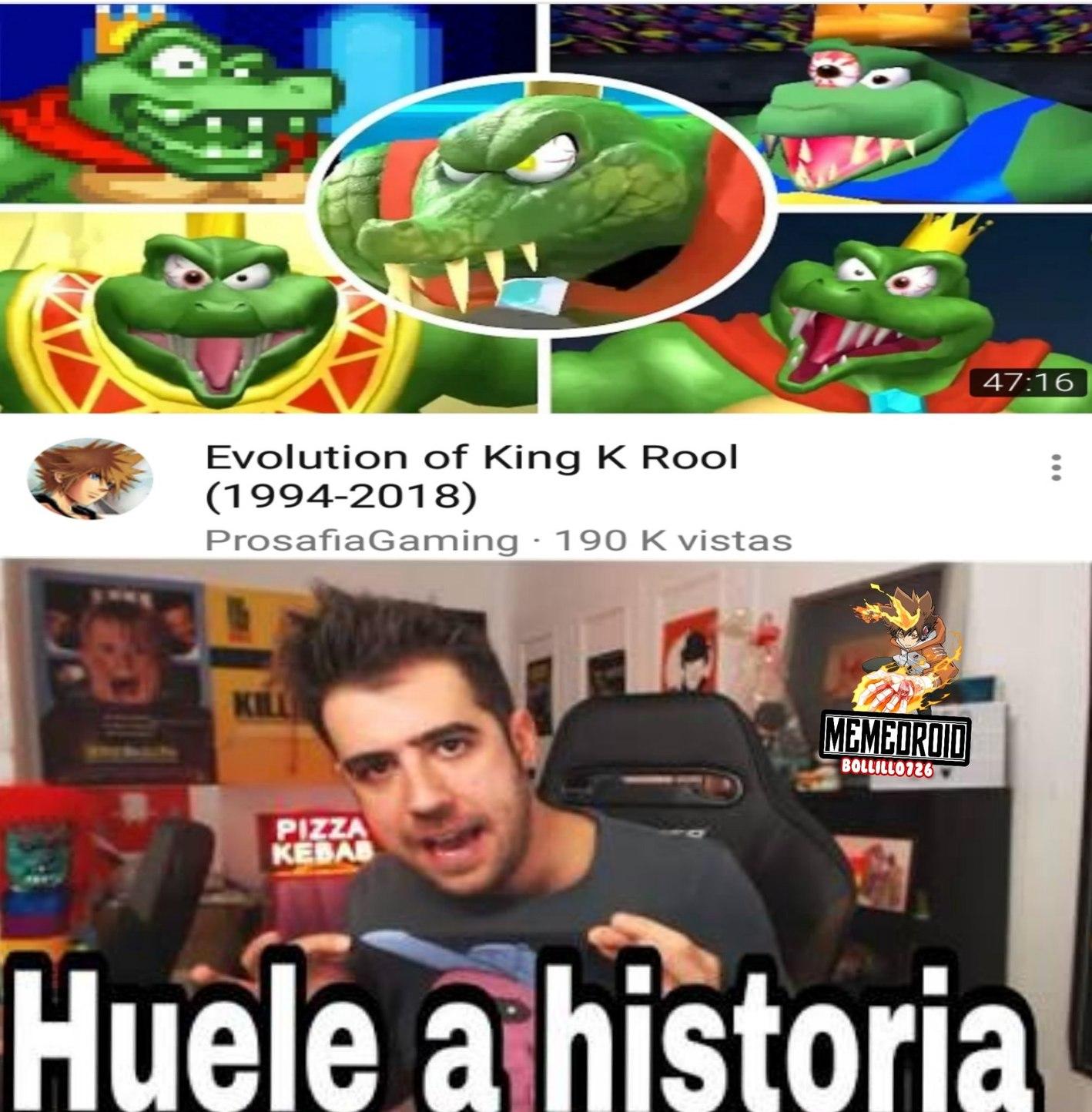 Huele ha history - meme