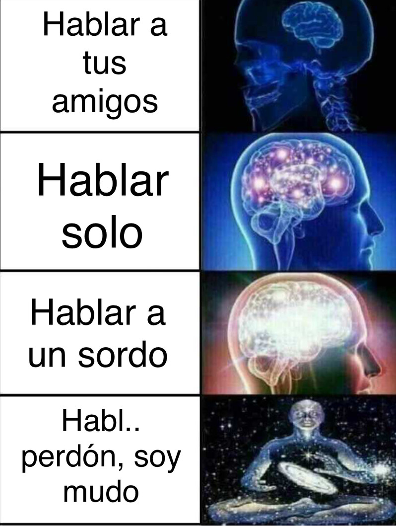 Hablar.. - meme
