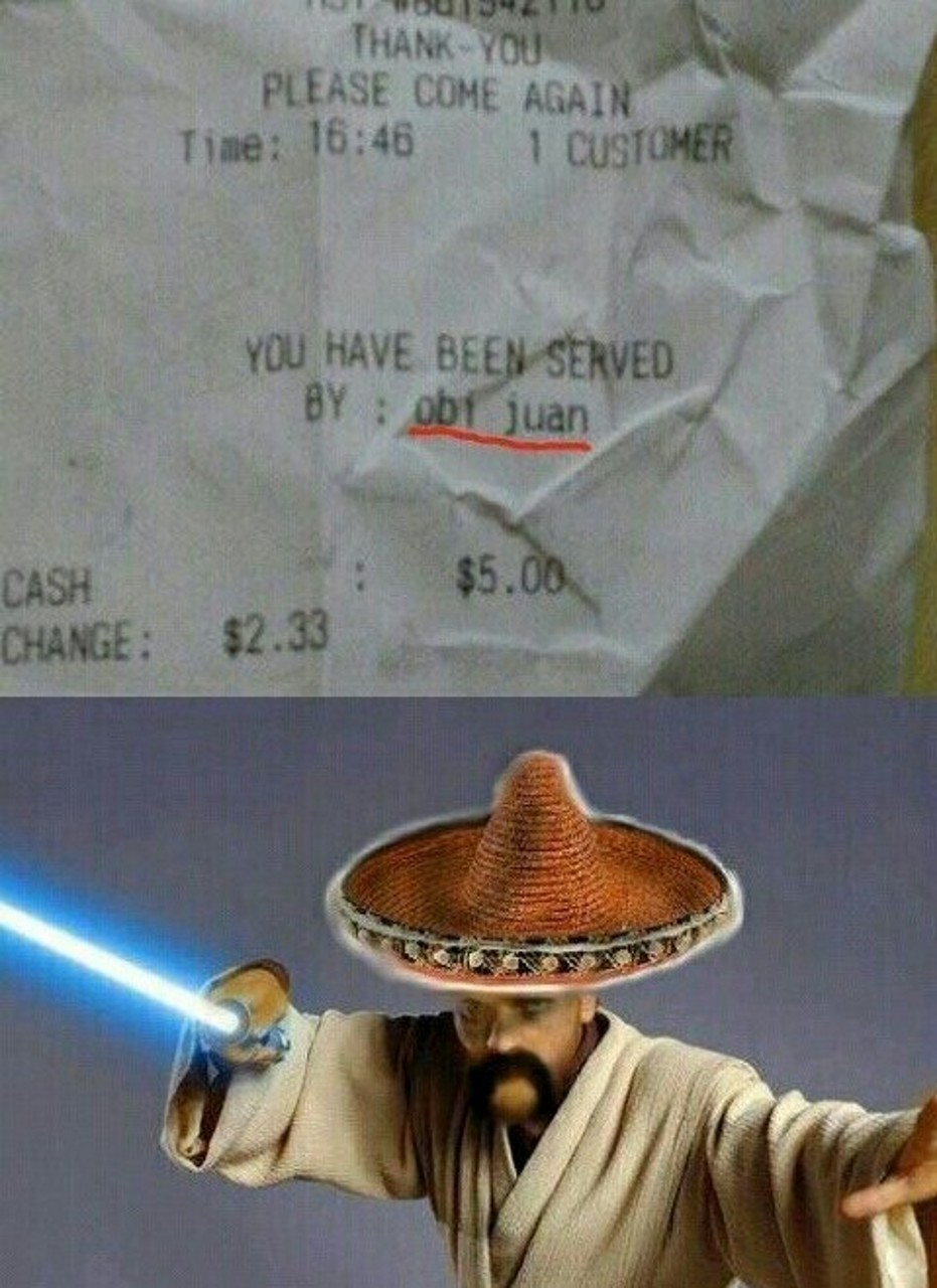 Obi juan  - meme