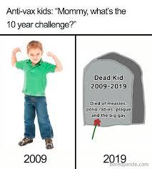 10 year challenge - meme