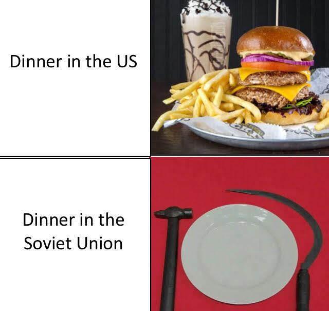 Our Dinner - meme