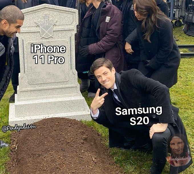 IPhone VS Samsung - meme