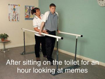 Trying to walk - meme
