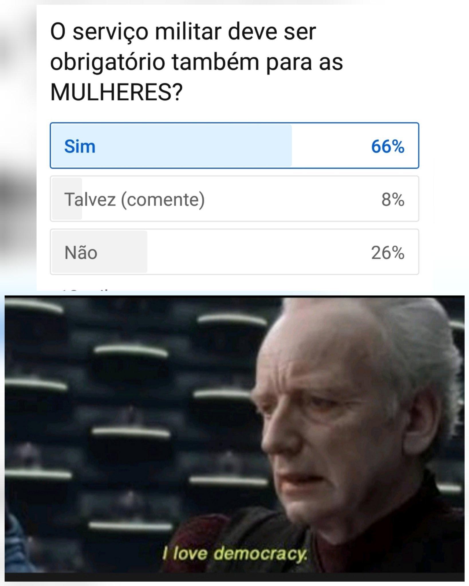I Love democracy - meme