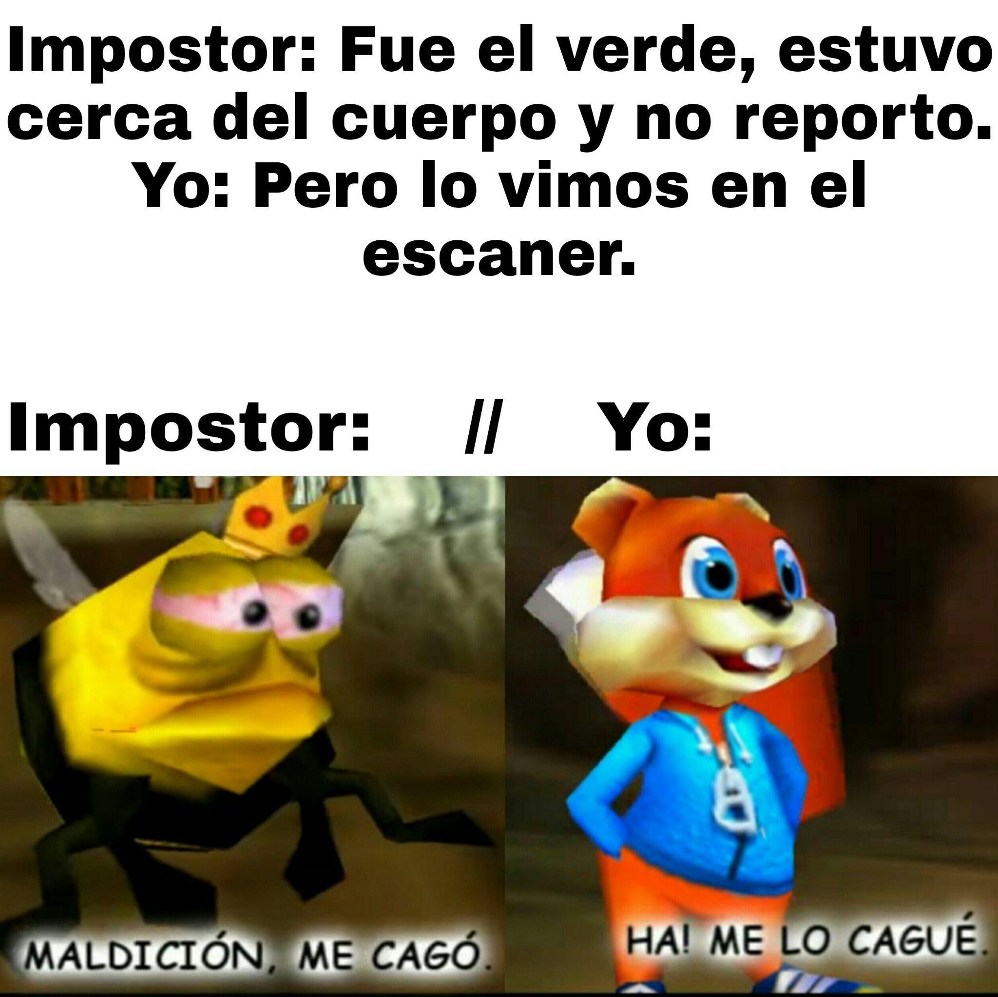 Ya valio el impostor - meme
