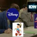 Recientemente Sonic en comics tuvo un personaje basado en pinocho, nunca estará la sobrina de eggman o Sticks