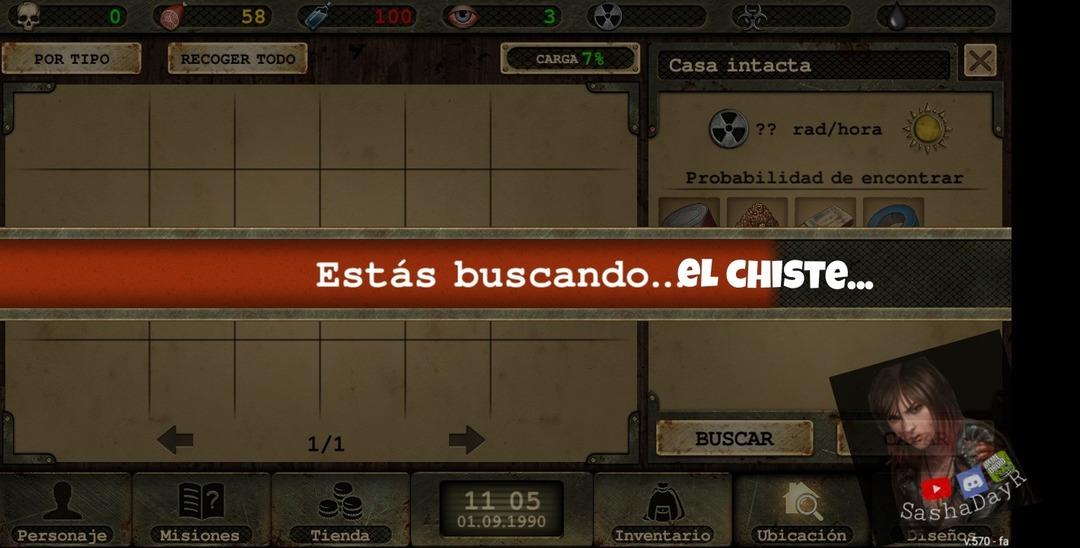 El juego original es Day R, una versión antigua - meme