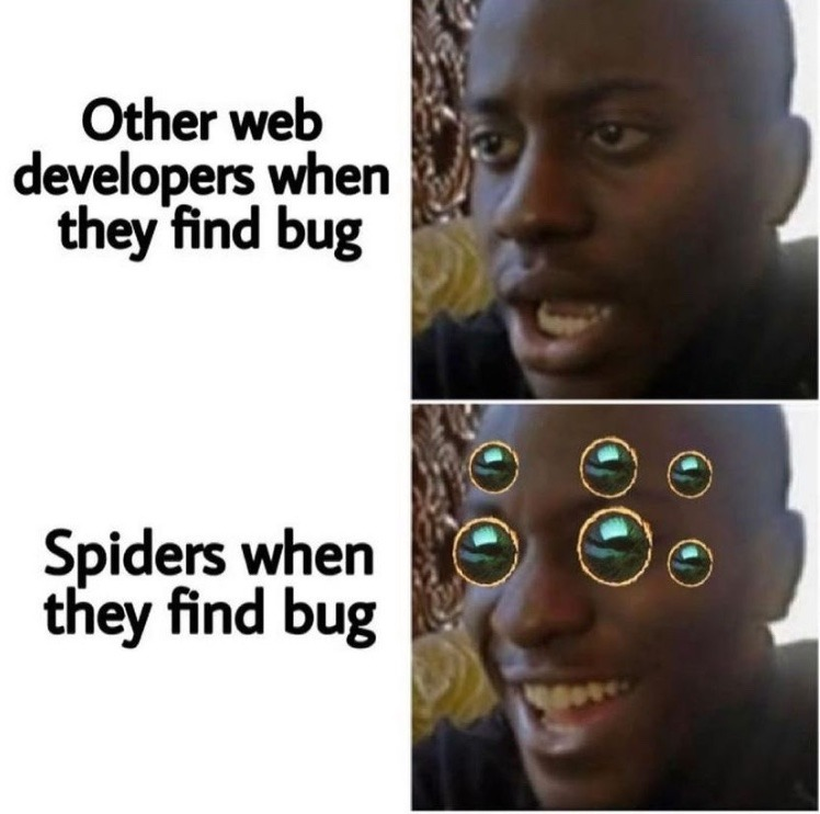 spiders - meme