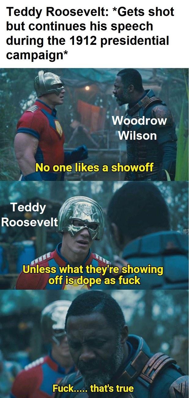 Teddy Roosevelt - meme
