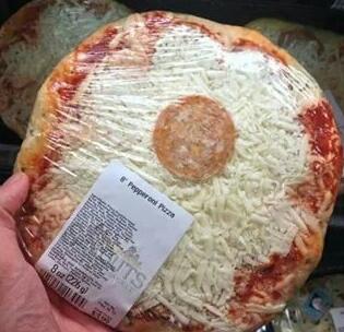 Pizza de pepperoni :| - meme