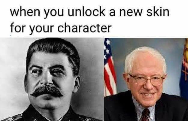 No socialism allowed - meme