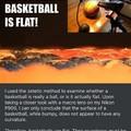 The Earth isn't flat