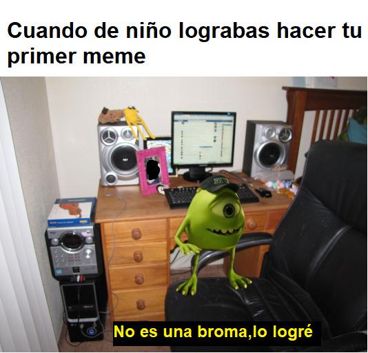 Hola soy un título - meme