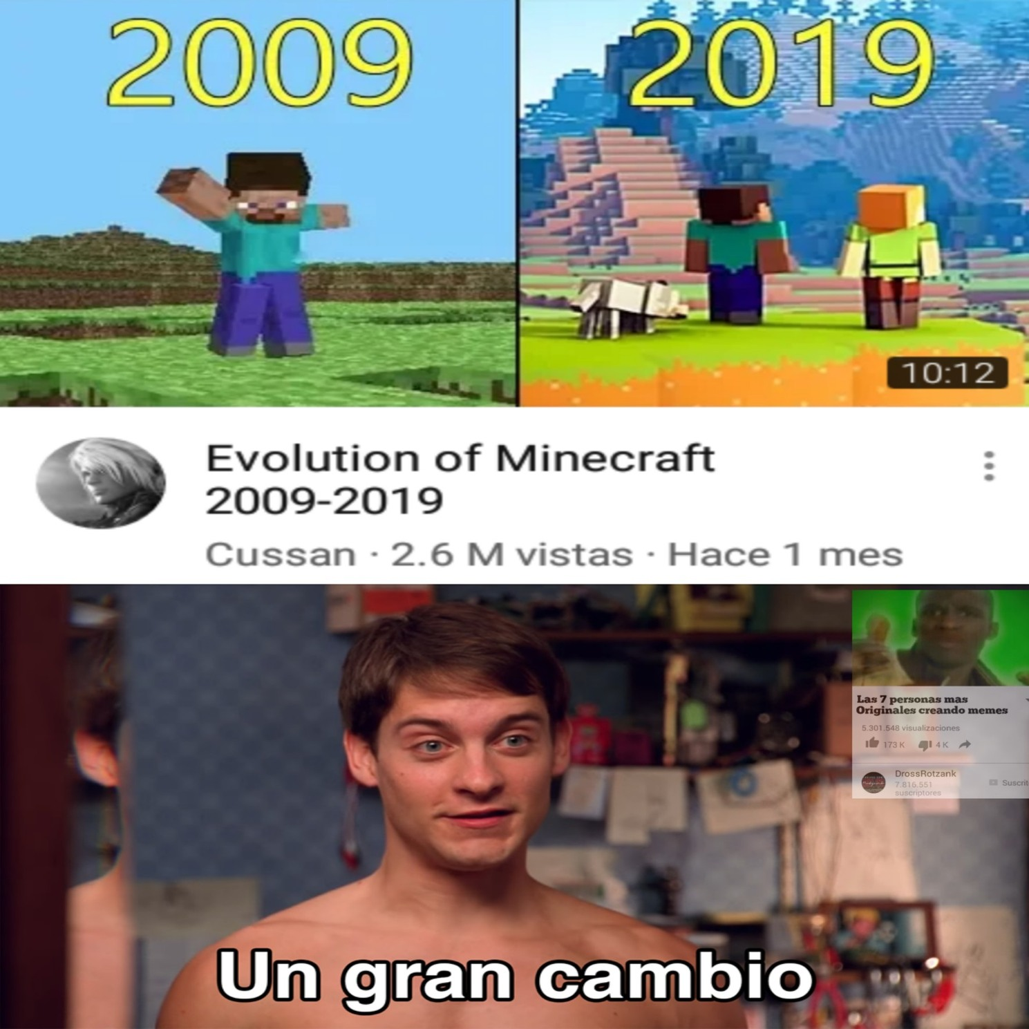 Viñeta original - meme