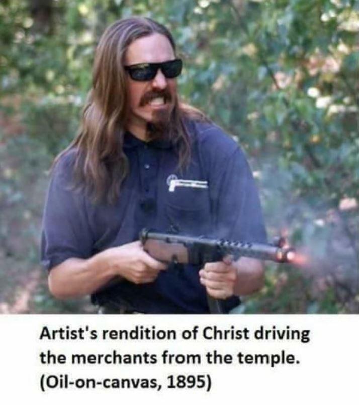Forgottenweapons jesus - meme
