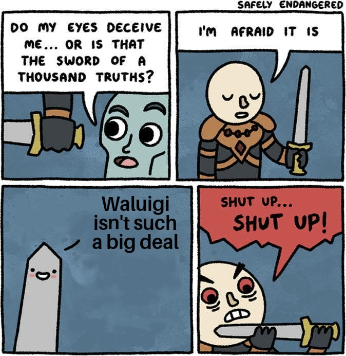 I hate that sword - meme