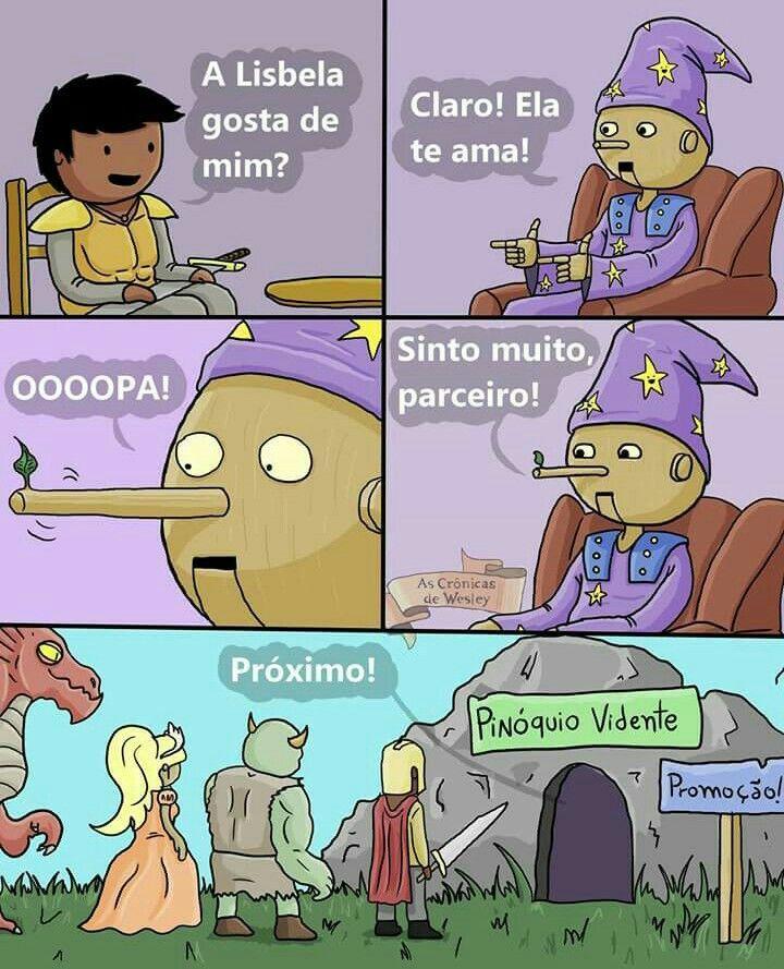 Pinoquio o pinoqueiro - meme