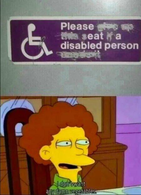 No vegan food... - meme