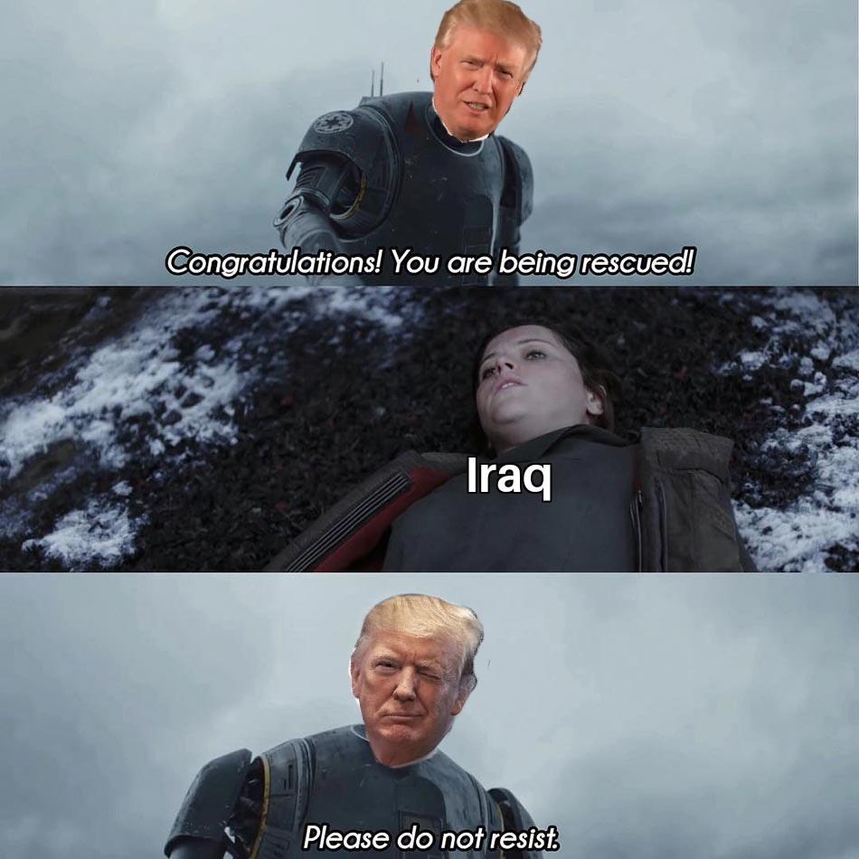 Let's go get that oil boys - meme