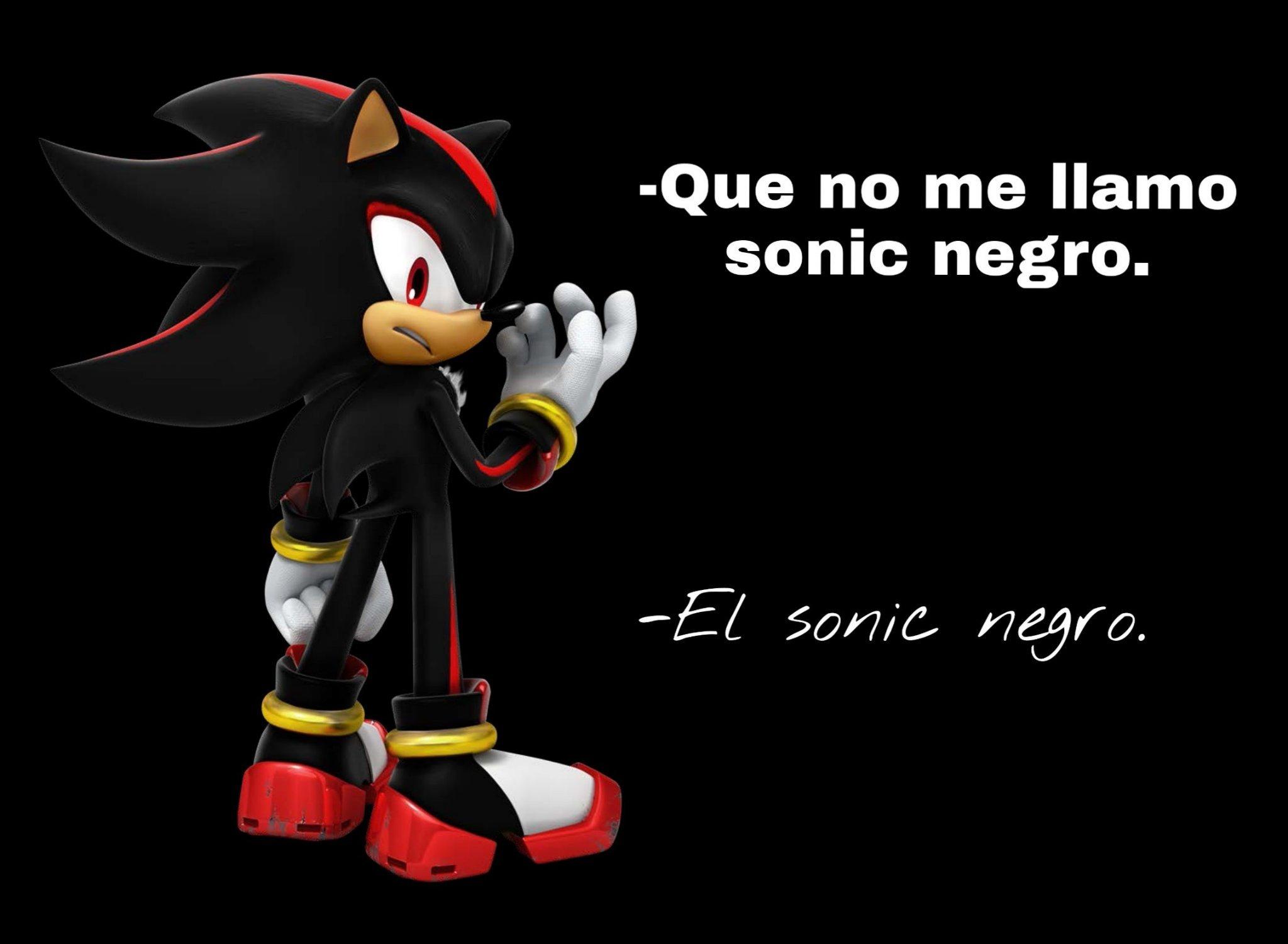 sonic negro - meme