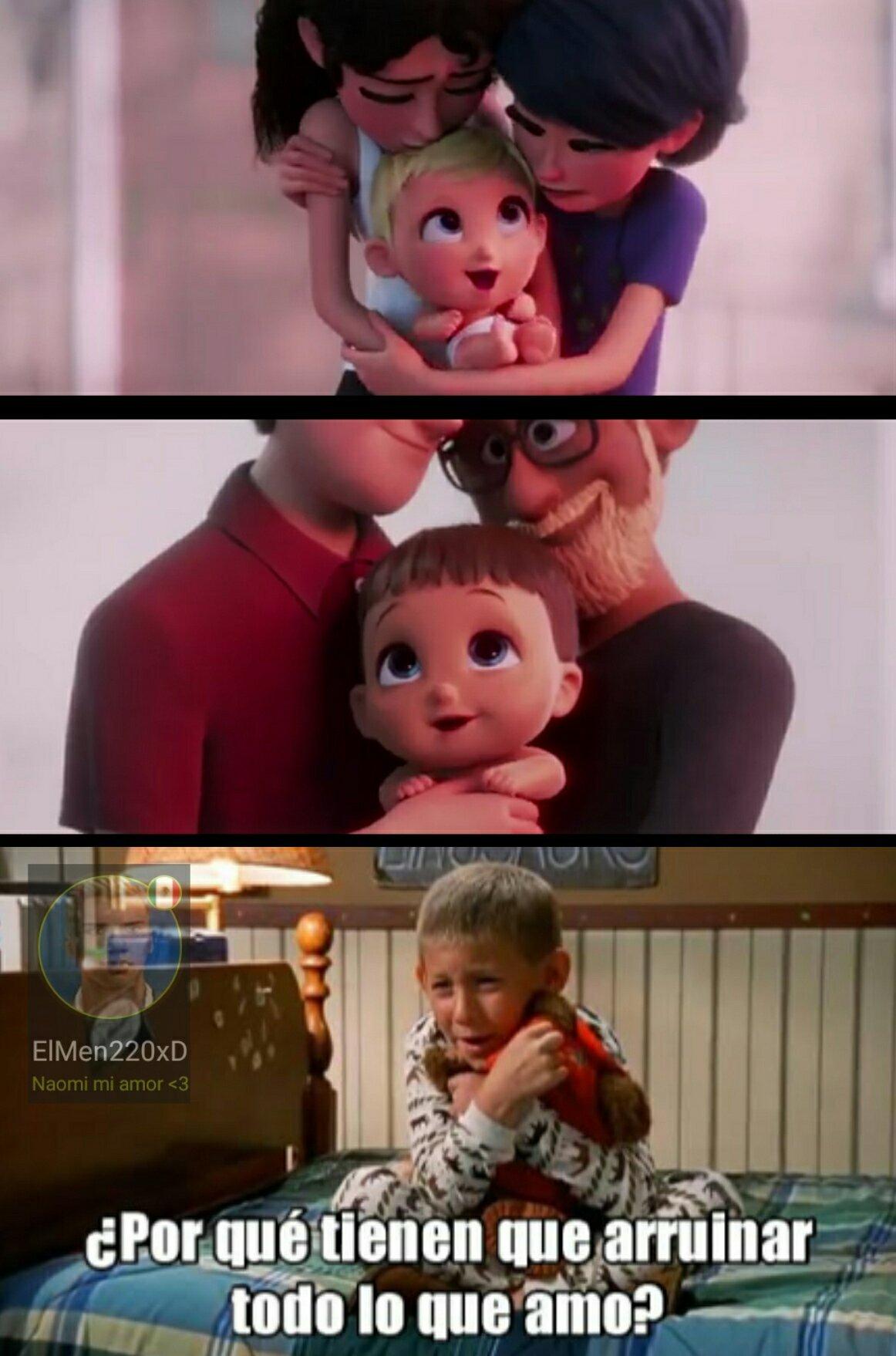 Infancia destruida :( - meme