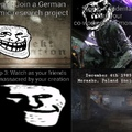 first time posting a troll face incident meme