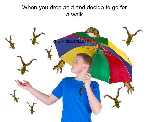 tut tut, it looks like rain - meme